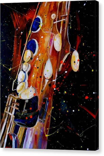 Instrument Of Choice Canvas Print