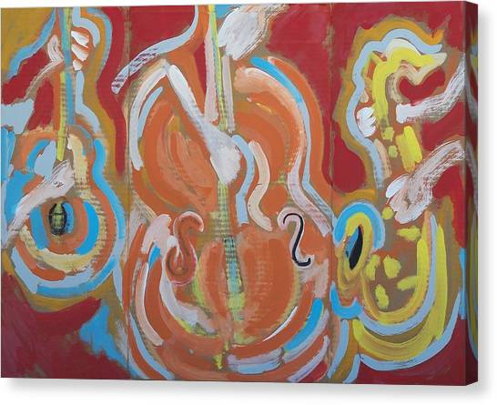 Instrumentalia Canvas Print by Jay Manne-Crusoe