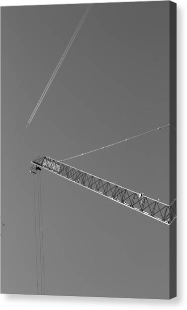 Intersection Canvas Print by Kevin Bates