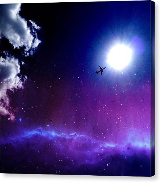 German Canvas Print - Into The Nebula by Randy Lemoine