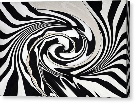 Intoxicated Zebra..... Canvas Print by Tanya Tanski