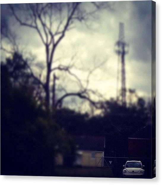 Beetles Canvas Print - #iphone4 #clouds #sky #iphone4s by Charlene Maldonado