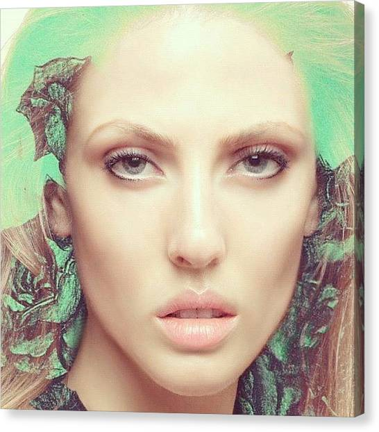 Female Canvas Print - ##iphoneography by Argus Lucem