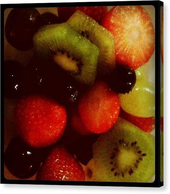 Grapes Canvas Print - #iphoneonly #igers #instagram by Just Berns