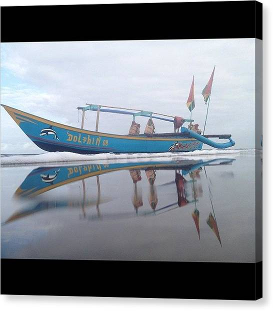 Fishing Boats Canvas Print - #iphonephotography #nofilter #iphone by Rudi Gunawan