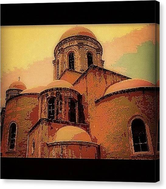 Greece Canvas Print - #iphonography #webstagram #igrammers by Sharyn Omalley