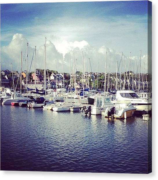 Marinas Canvas Print - #ireland #2012 #igersireland #eire by Conor Duffy