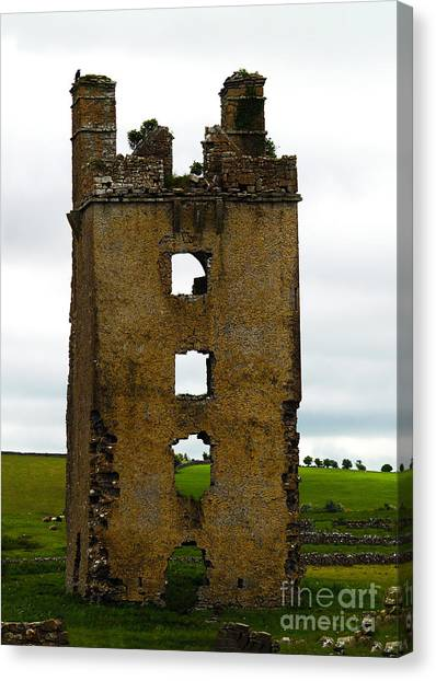 Ireland- Castle Ruins II Canvas Print