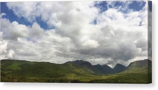 Ireland Panorama Canvas Print