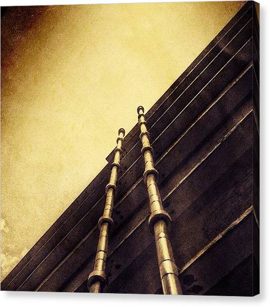 Gothic Art Canvas Print - Isosceles ~ #instagram #iphoneography by Abid Saeed