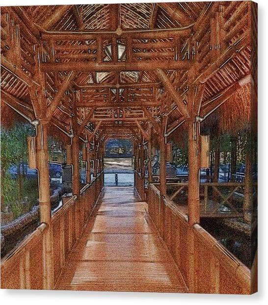Bamboo Canvas Print - Istana Bambu #lordrul #igmalaysia #igmy by Lord Rul