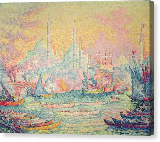 Byzantine Canvas Print - Istanbul by Paul Signac