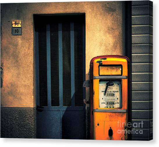 Italian Gasoline Canvas Print