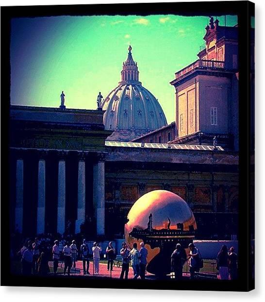 Soccer Leagues Canvas Print - #italy #italia #roma #rome #vaticano by Marco Santos