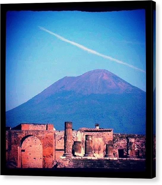 Vulcans Canvas Print - #italy  #italia #vesuvio #pompeia by Marco Santos