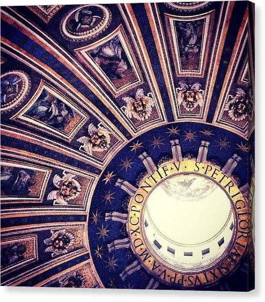 Rome Canvas Print - #italy #vatican #stunning #rome by Bekah Chaplin ™