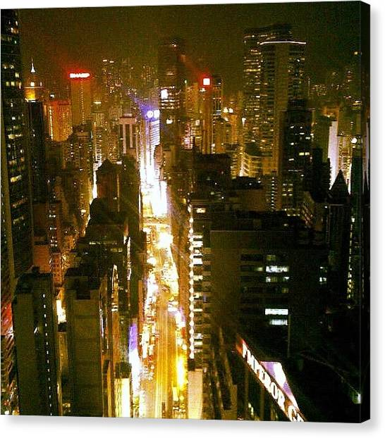 Om Canvas Print - It's A (concrete) Jungle Out There by Om Bhatia