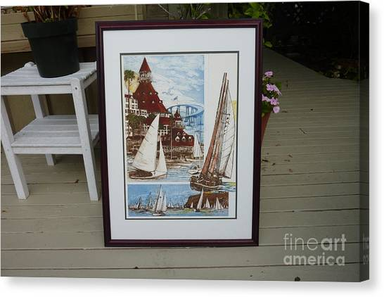 Its Old Its New We Love It Coronado Canvas Print