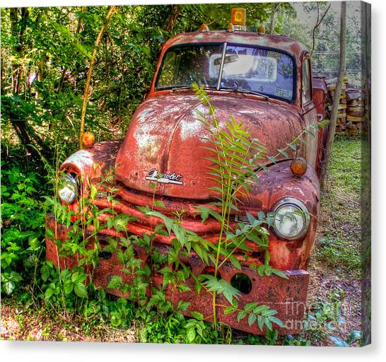 I've Towed My Last Tow.. Canvas Print