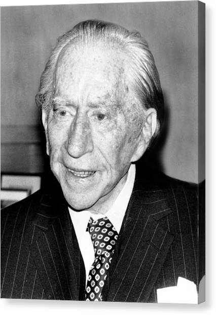 J Paul Getty Canvas Print - J. Paul Getty, 82, 5121975 by Everett