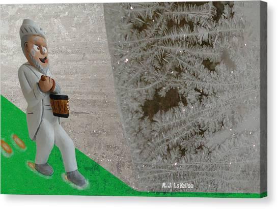 Jack Frost Canvas Print