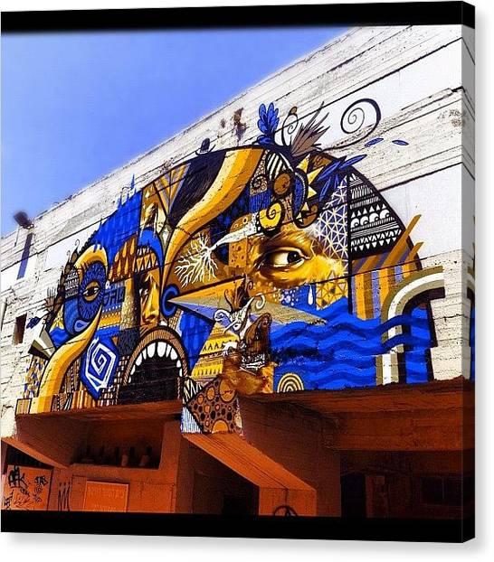 Largemouth Bass Canvas Print - #jaffa #port #jaffaport #wall by Alon Ben Levy