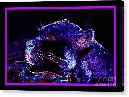 Jaguar Dreaming Your Tomorrow Canvas Print
