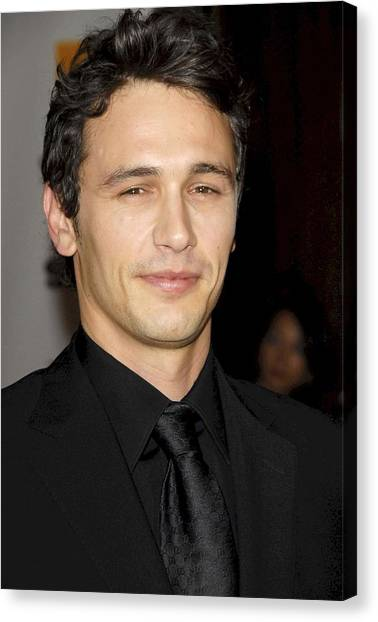 James Franco Canvas Print - James Franco At Arrivals For 12th by Everett