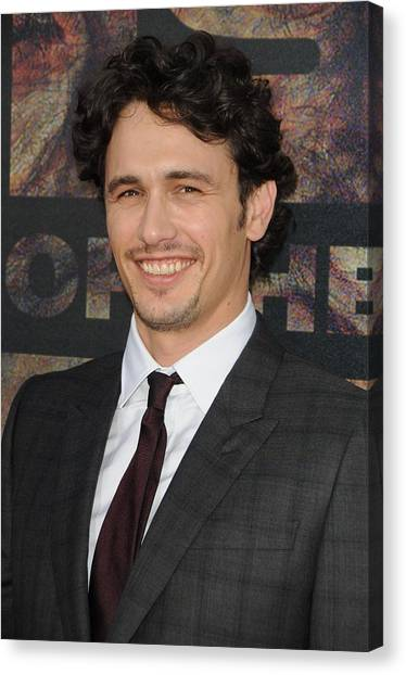 James Franco Canvas Print - James Franco At Arrivals For Rise Of by Everett