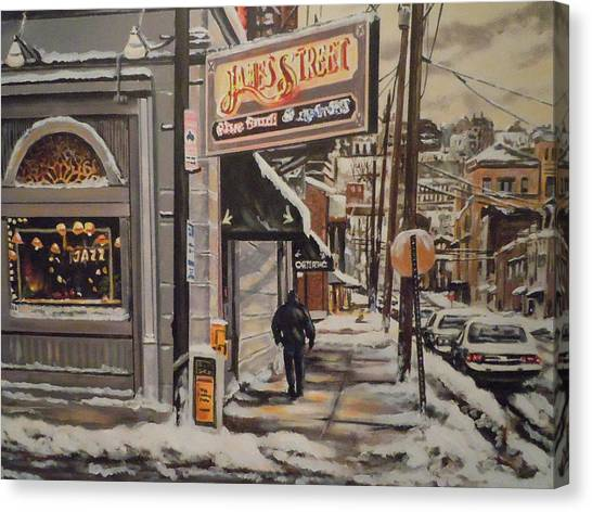 James Street Restaurant  Canvas Print