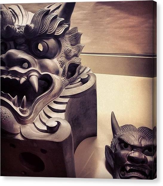 Satan Canvas Print - #japantrip2012 #japan #ilovejapan by Logan Mcpherson