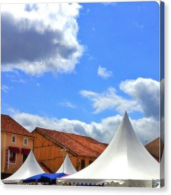 Jazz Canvas Print - Jazz In Marciac #festival #jazz #music by Val Lao