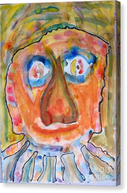 Jerry K. Canvas Print by Bill Davis