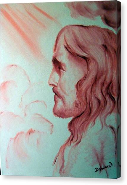 Jesus In His Glory Canvas Print