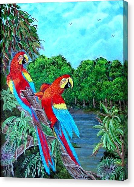 Jewels Of The Amazon Canvas Print