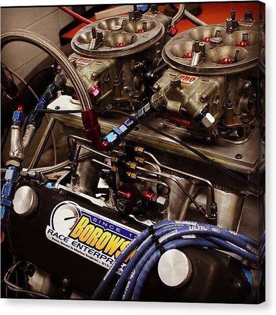 Racing Canvas Print - Joe Bucaro - Small Block Ford by Borowski Race