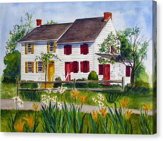 John Abbott House Canvas Print