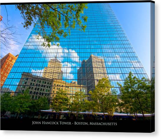 John Hancock Tower Canvas Print