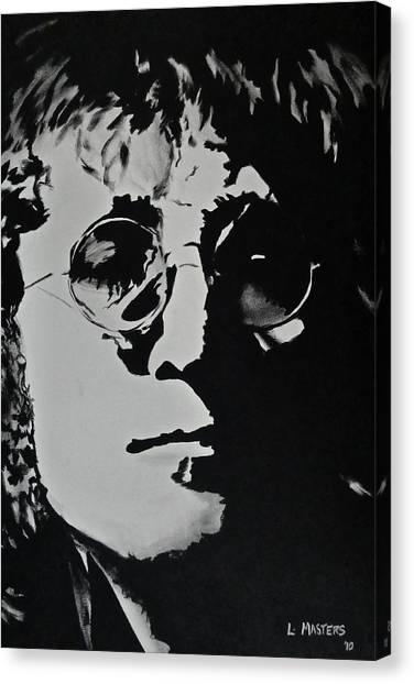 John Lennon Canvas Print by Lisa Masters