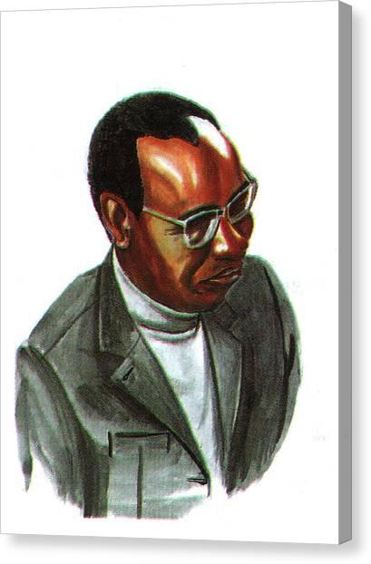 John Mbiti Canvas Print