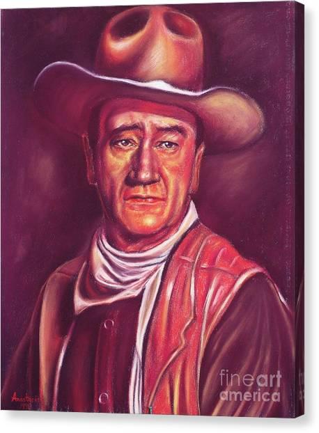 John Wayne Canvas Print by Anastasis  Anastasi