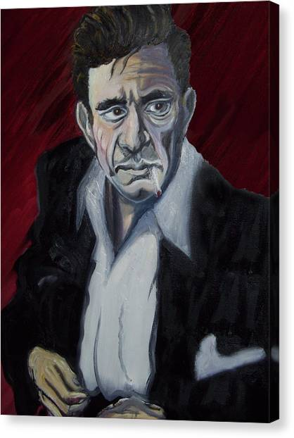 Johnny Cash Canvas Print