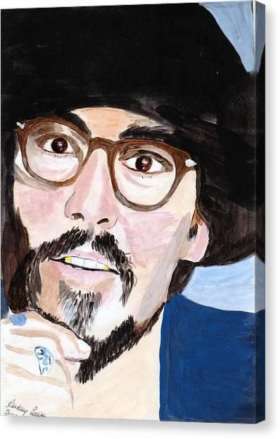 Johnny Depp 5 Canvas Print