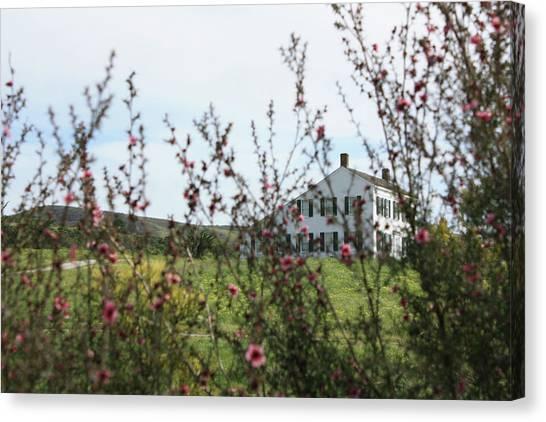 Johnston House In Half Moon Bay Canvas Print