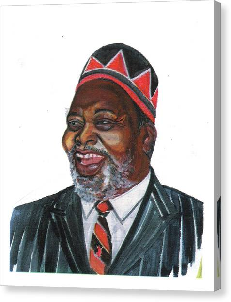 Jomo Kenyatta Canvas Print