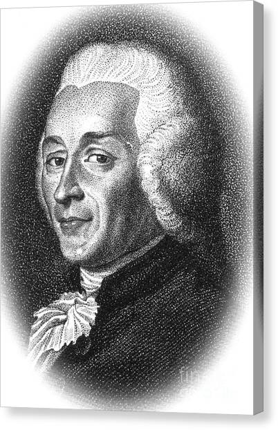 Harpsichords Canvas Print - Joseph-ignace Guillotin, French by Science Source
