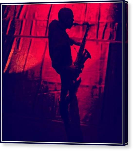 Jazz Canvas Print - Joshua Redman by Luiz Di Bella