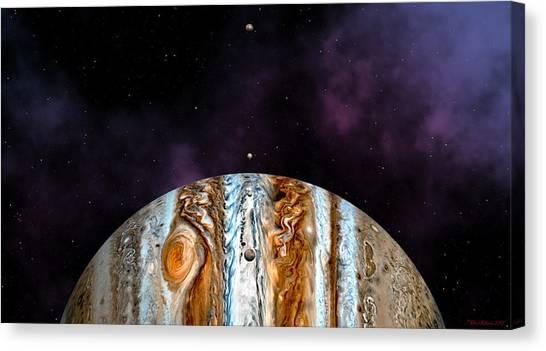Jovian Giant Canvas Print