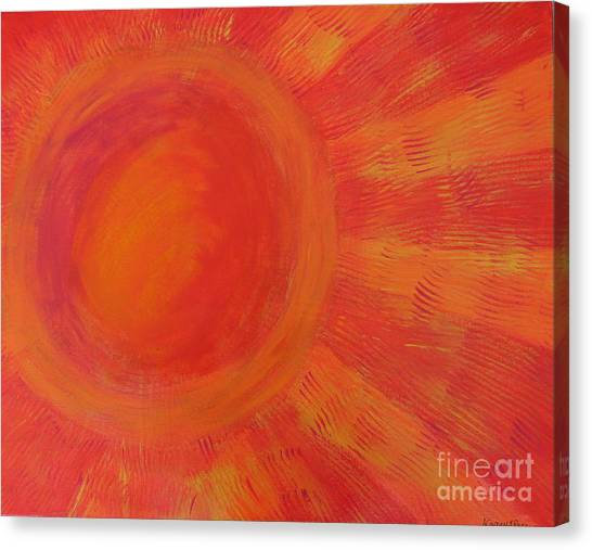 Joy In The Morning Canvas Print