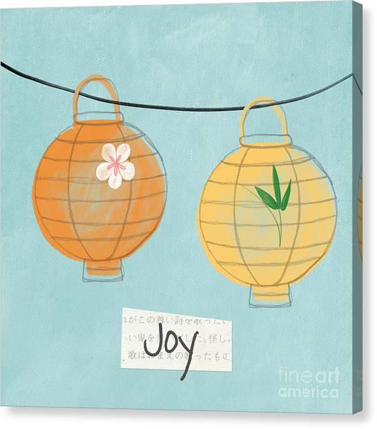 Berries Canvas Print - Joy Lanterns by Linda Woods